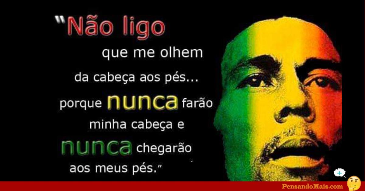 Frases Curtas De Artistas Frases De Bob Marley